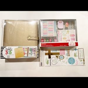 Bundle create 365 planner cover stickers washi